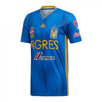 Jersey adidas Tigres Segunda Equipación 2019-2020 Blue-Collegiate gold