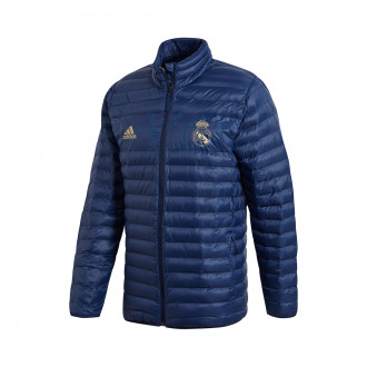 Chamarra adidas Real Madrid SSP LT 2019-2020 Night indigo-Dark football gold