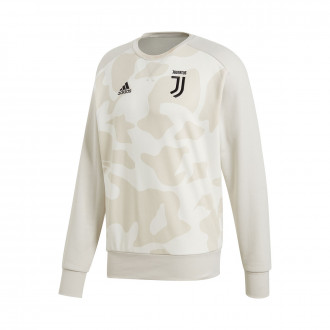 Sudadera adidas Juventus SSP CR Sweat 2019-2020 Camo print-Raw white