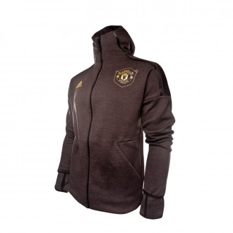 Jacket adidas Manchester United FC ZNE HD 2019-2020 Black-Carbon