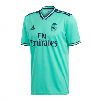 Playera adidas Real Madrid Tercera Equipación 2019-2020 HI-Re green-Night indigo