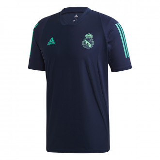 Playera adidas Real Madrid EU Training 2019-2020 Night indigo-HI-Res green