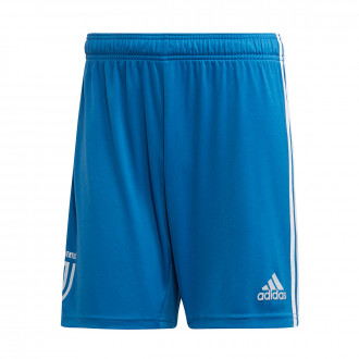 Pantaloncini adidas Juventus Terzo completo 2019-2020 Unity blue-Aero blue