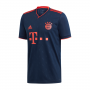 Camiseta Bayern Munich FC Tercera Equipación 2019-2020 Collegiate navy-Bright Red