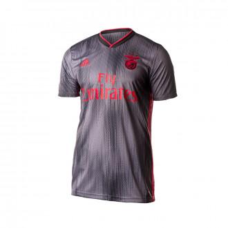 Camisola adidas SL Benfica Equipamento Suplente 2019-2020 Black-Grey