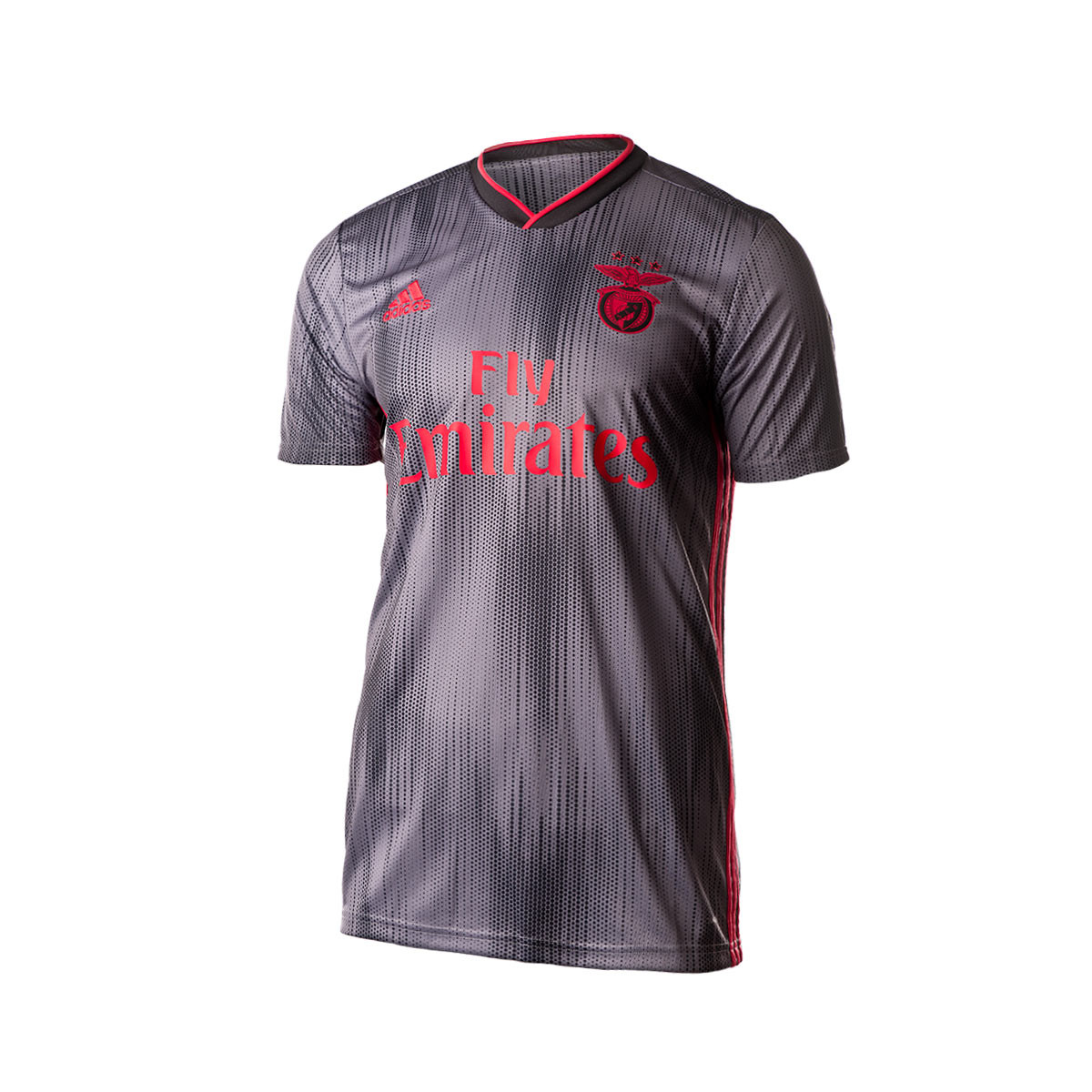 7d1aaeb115 Camiseta Benfica SL Segunda Equipación 2019-2020 Black-Grey