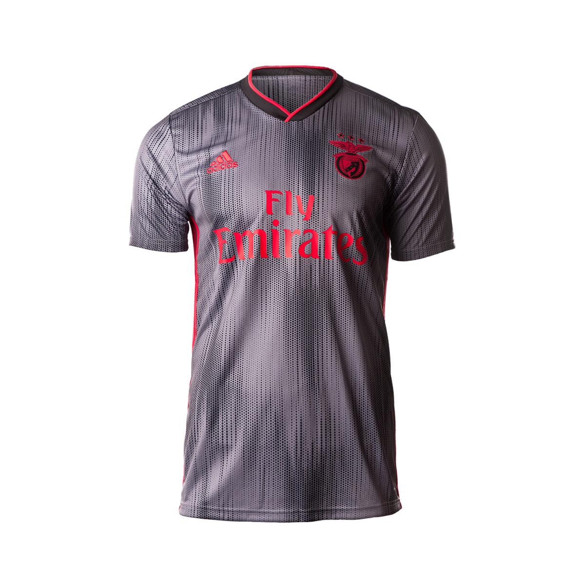 the best attitude 71f58 7929f Camiseta Benfica SL Segunda Equipación 2019-2020 Black-Grey
