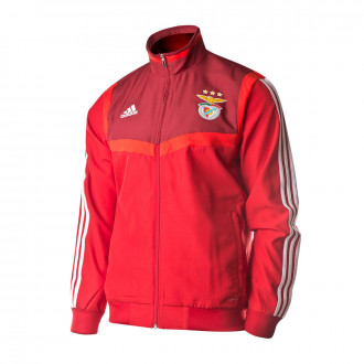 Jacket adidas Benfica SL Pre 2019-2020 Power Red-Collegiate burgundy-White