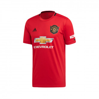 Maillot  adidas Manchester United FC Domicile 2019-2020 Real red