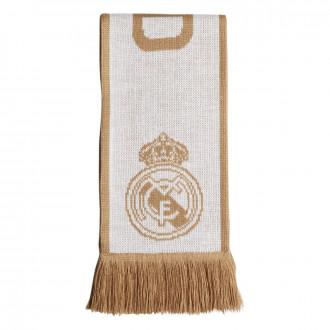 Sciarpa  adidas Real Madrid 2019-2020 White-Dark football gold