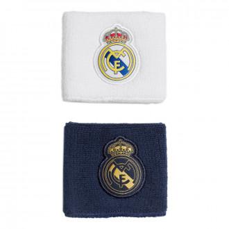 Muñequera  adidas Real Madrid WB 2019-2020 Night indigo-White-Black-Dark football gold