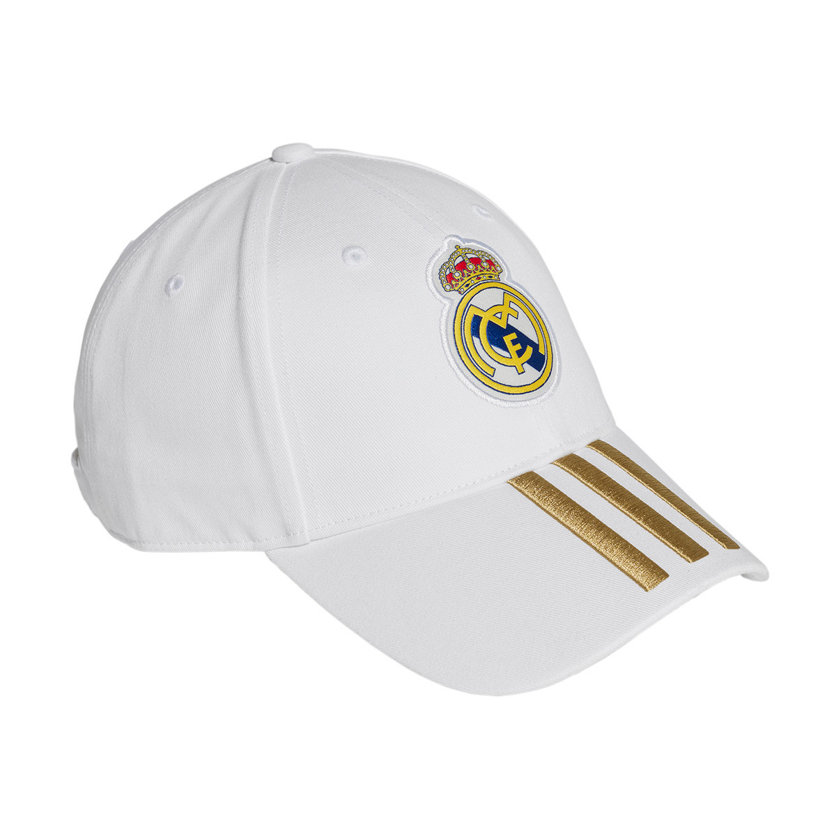 low priced 8846b 4fd28 Gorra Real Madrid C40 2019-2020 White-Dark football gold