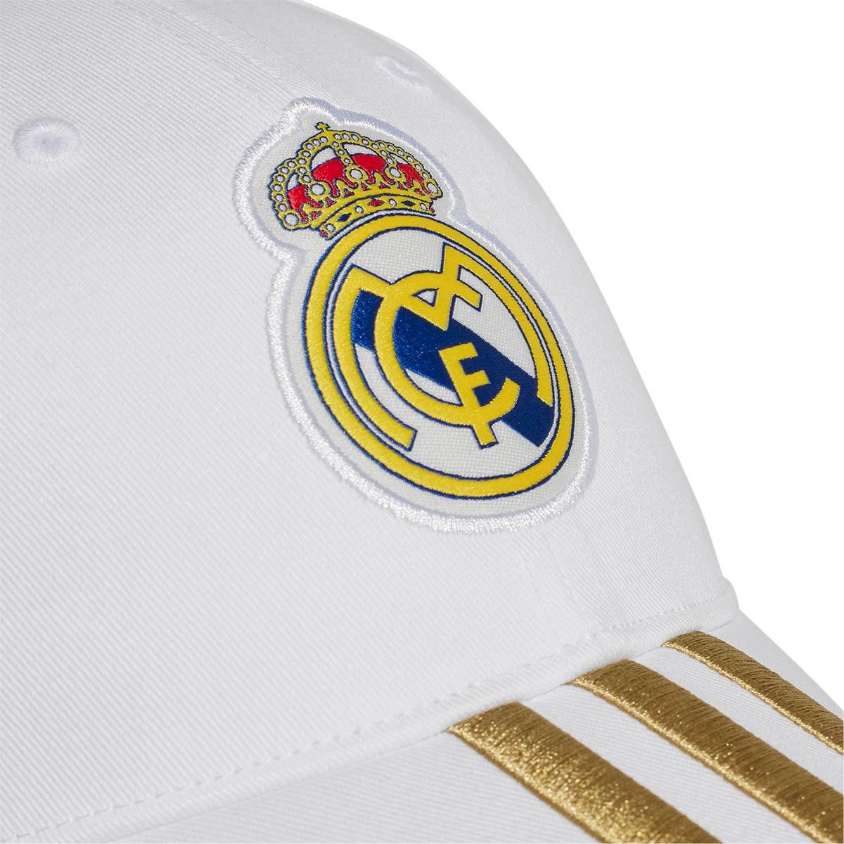 123584e64 Gorra Real Madrid C40 2019-2020 White-Dark football gold