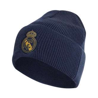 Bonnet  adidas Real Madrid Woolie 2019-2020 Night indigo-Matte gold