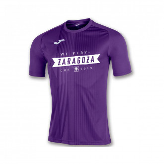 Camisola  Joma Tiger m/c ZCUP19 Roxo