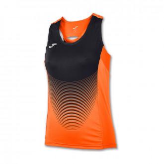 Jersey  Joma Elite VI Tirantes Mujer Orange-Black