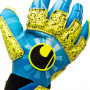 Guante Radar Control Supergrip Reflex Radar blue-Flour yellow-Black