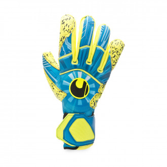 Glove  Uhlsport Radar Control Supergrip Radar blue-Flour yellow-Black