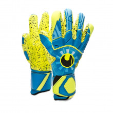 Glove Radar Control Supergrip Finger Surround Radar blue-Flour yellow-Black