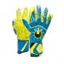 Guante Radar Control Supergrip Finger Surround Radar blue-Flour yellow-Black