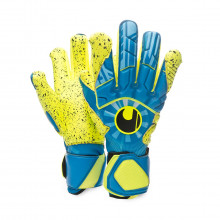 Glove Radar Control Supergrip HN Radar blue-Flour yellow-Black