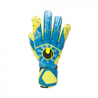Glove  Uhlsport Radar Control Supergrip HN Radar blue-Flour yellow-Black