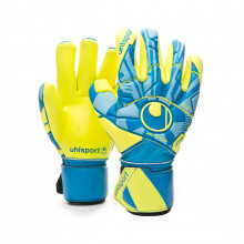 Glove Radar Control Absolutgrip Finger Surround Radar blue-Flour yellow-Black