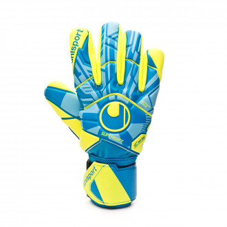Guante Uhlsport Control Supersoft HN Radar blue-Flour yellow-Black