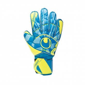 Luvas Uhlsport Radar Control Supersoft Radar blue-Flour yellow-Black