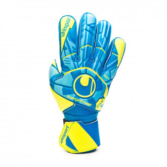 Glove  Uhlsport Radar Control Soft SF Radar blue-Flour yellow-Black