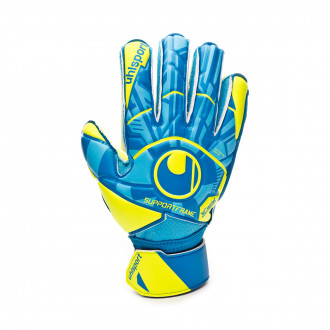 Glove  Uhlsport Radar Control Soft SF Niño Radar blue-Flour yellow-Black