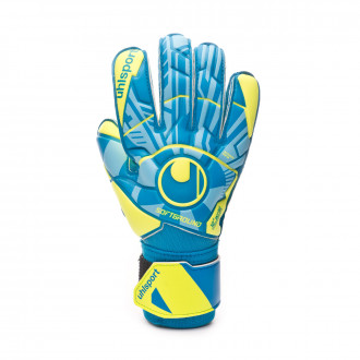 Glove  Uhlsport Radar Control Soft Pro Niño Radar blue-Flour yellow-Black