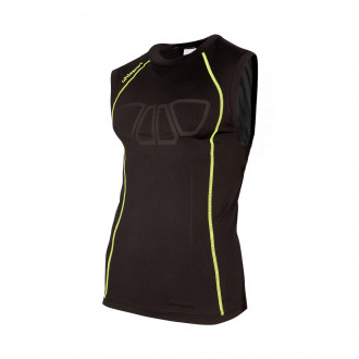 Maglia  Uhlsport Bionikframe Tank Top Black-Fluor yellow