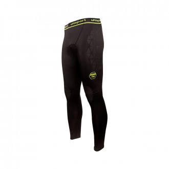 Sottopantaloni  Uhlsport Bionikframe Res Longtight Black-Fluor yellow