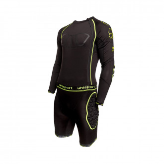 Tenue  Uhlsport Bionikframe Bodysuit Black-Fluor yellow