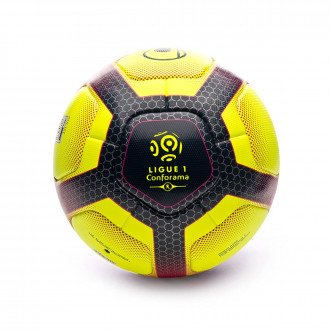 Ballon  Uhlsport Elysia Official 2019 Fluor yellow-Navy-Fuchsia