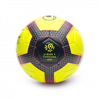 Ballon  Uhlsport Elysia Pro Ligue 2019 Fluor yellow-Navy-Fuchsia