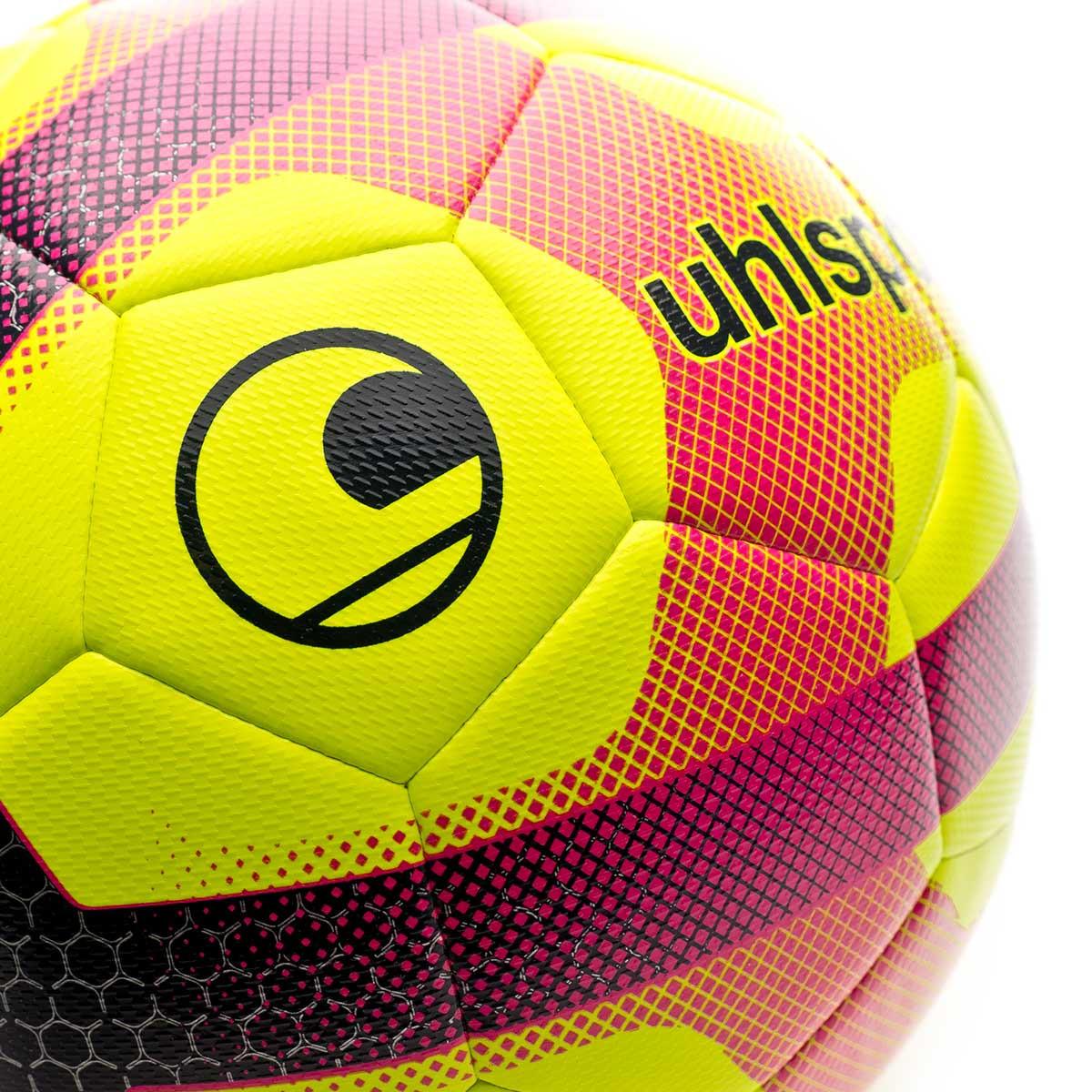 Bal/ón Uhlsport Elysia Pro Ligue 2019 Fluor Yellow-Navy-Fuchsia