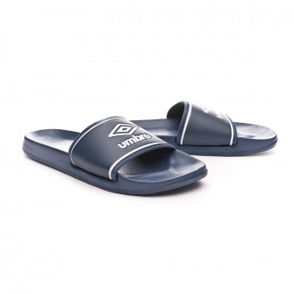 Sandales Umbro Shower Slide Navy-White
