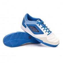 Chaussure de futsal Chaleira II Liga White-Black-Regal blue