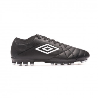 Zapatos de fútbol Umbro Medusae III Club AG Black-White