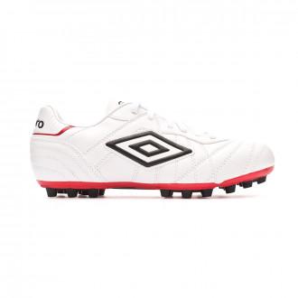 Chaussure de foot Umbro Speciali Eternal Club White-Black-Vermillion