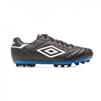 Zapatos de fútbol Umbro Speciali Eternal Club Black-White-Electric blue