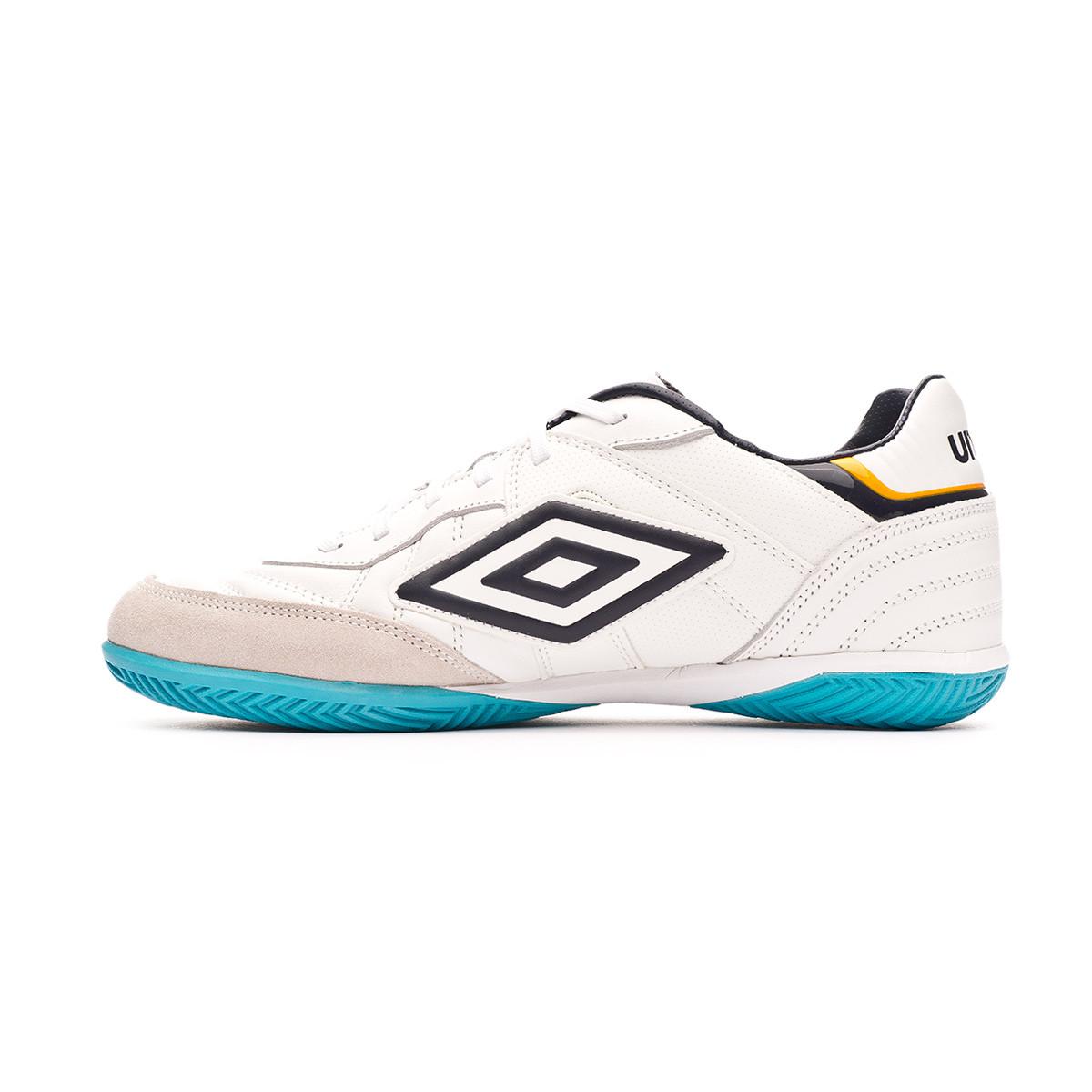 Futsal Boot Umbro Speciali Eternal Team Nt Ic White Evening Blue Scuba Blue Zinnia Football Store Futbol Emotion