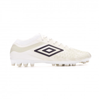 Zapatos de fútbol Umbro Velocita IV Club AG White-Plum-Nimbus cloud