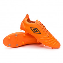 Football Boots UX Accuro III Pro FG D30 LTD ED Orange-Grey
