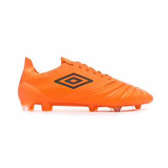 Chaussure de foot  Umbro UX Accuro III Pro FG D30 LTD ED Orange-Grey