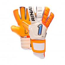 Glove Egotiko Quantum Pro White-Orange
