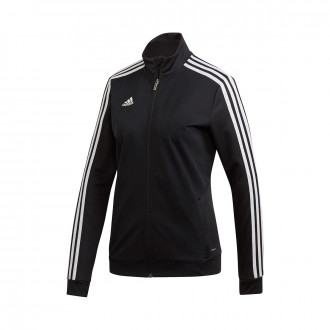 Jacket  adidas Tiro 19 Mujer Black-White