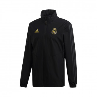 Jacket  adidas Real Madrid Segunda Equipación 2019-2020 Black-Carbon